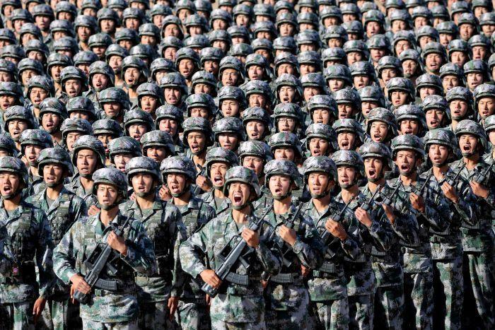 tentera china