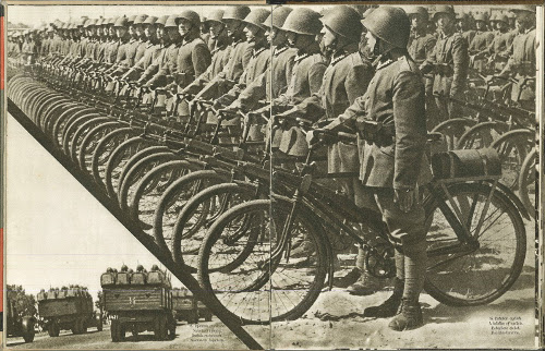 tentera ketika ww2 berbasikal