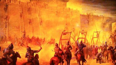 tentera mongol menyerang empayar abbasiyah
