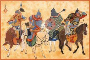 tentera mongul di bawah genghis khan