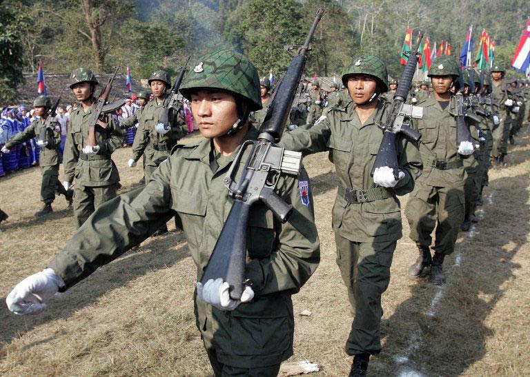 tentera myanmar