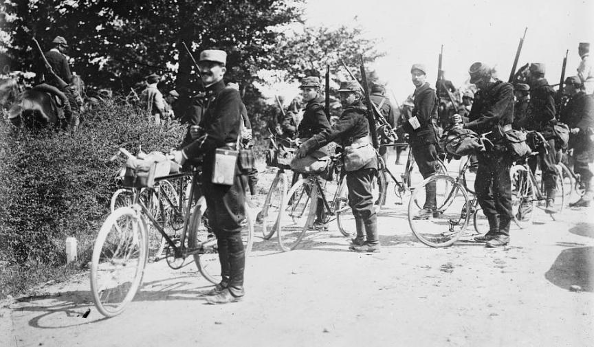 tentera perancis ketika perang dunia pertama