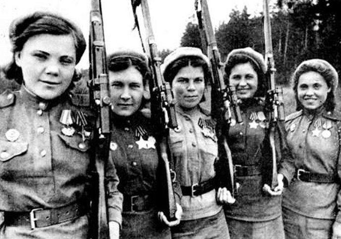 tentera red army kesatuan soviet dari kalangan wanita 429
