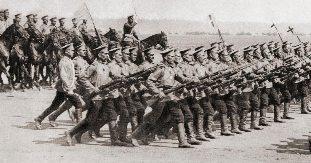 tentera russia perang dunia pertama
