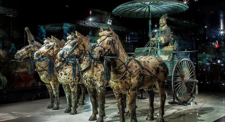 tentera terracotta berkuda