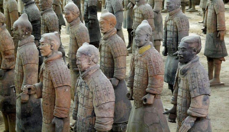 tentera terracotta yang ditemui