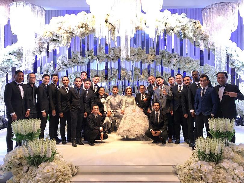 terlajak romatik foto foto majlis resepsi perkahwinan raf yaakob dan mawar rashid 13