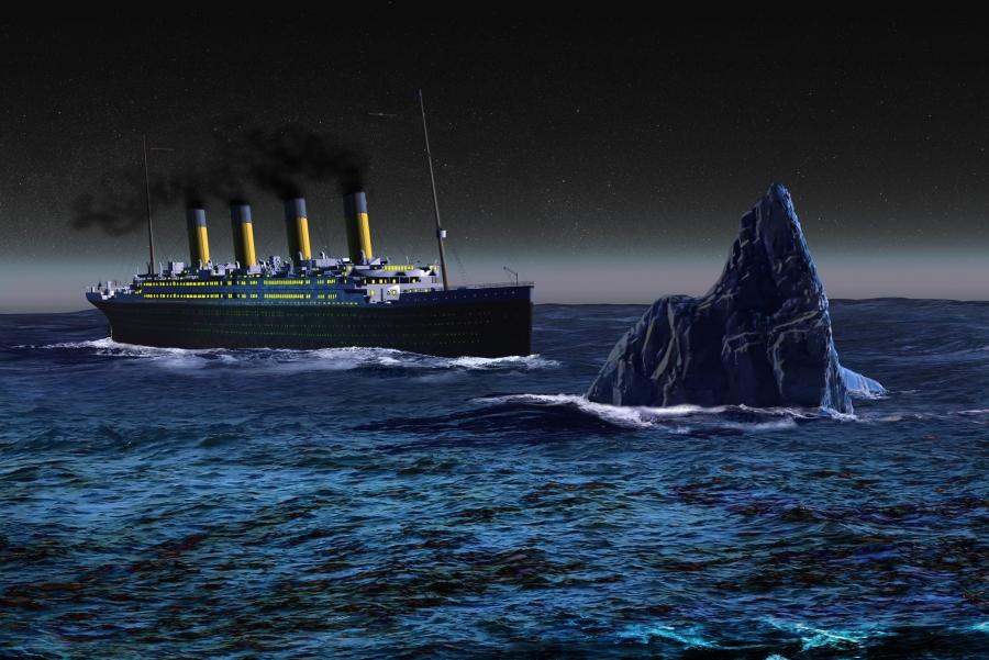 terlanggar iceberg