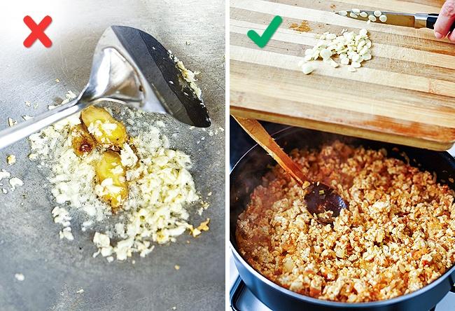 terlebih masak bawang putih