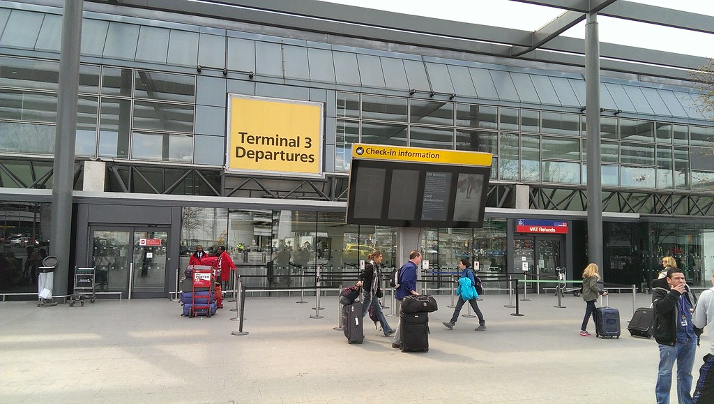 terminal 3 lapangan terbang heathrow
