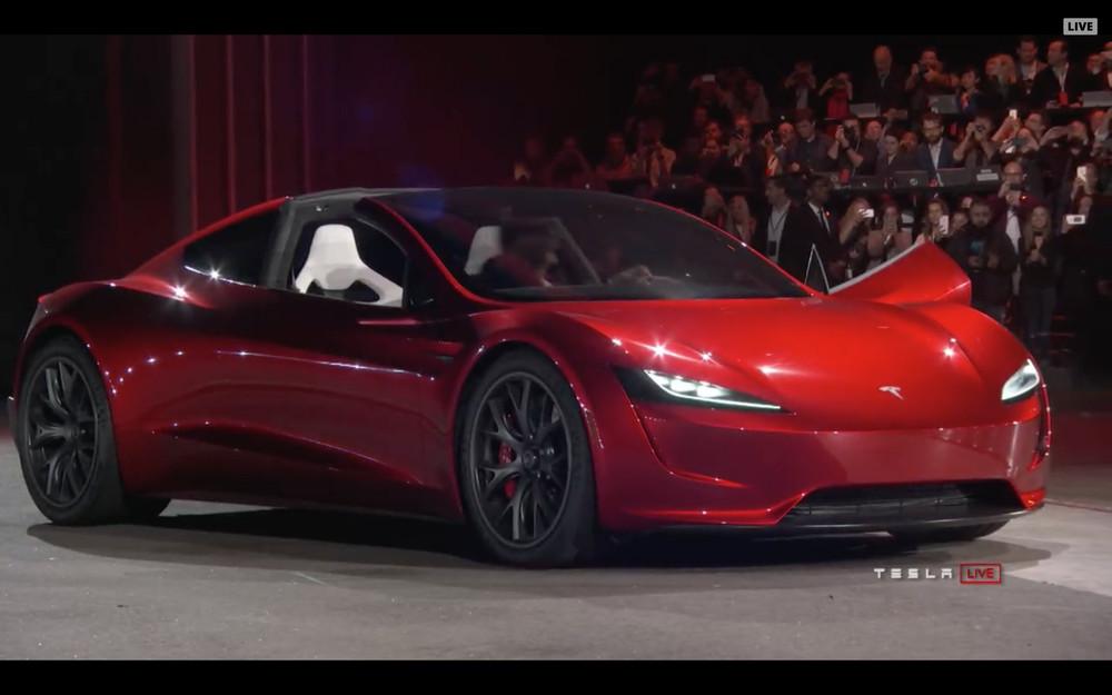 tesla roadster generasi kedua