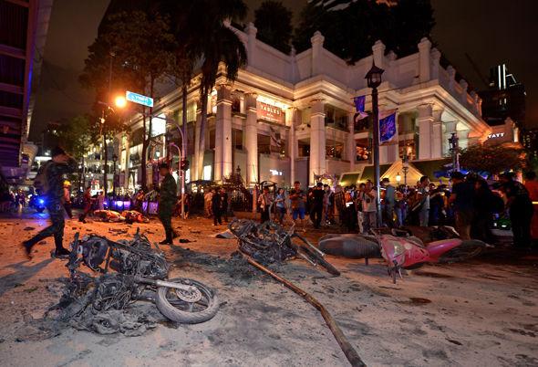 thailand pergolakan politik