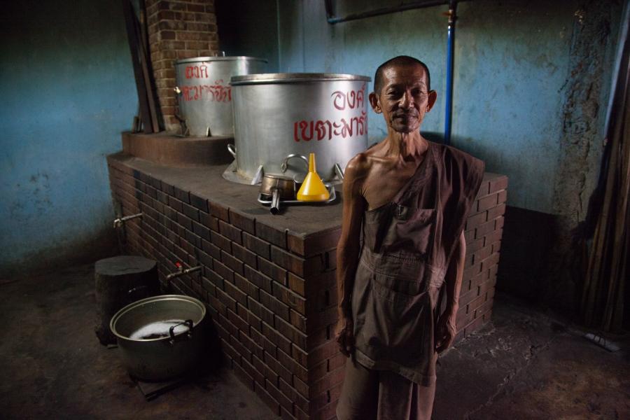 thamkrabok pusat rawatan pemulihan dadah percuma thailand bancuh teh herba