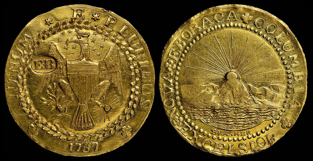 the brasher doubloon 1787