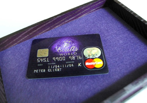 the coutts world silk card