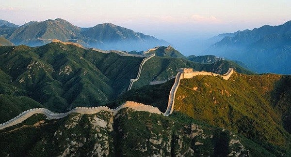 the great wall of negara paling luas di dunia china