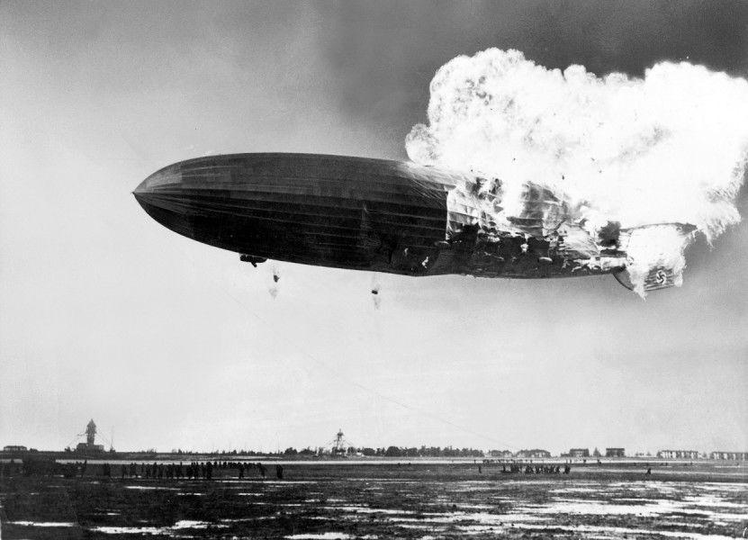 the hindenburg tragedi letupan kapal udara kebanggan nazi jerman 10