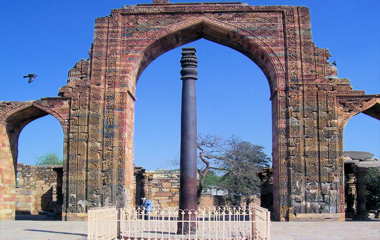 the iron pillar of delhi
