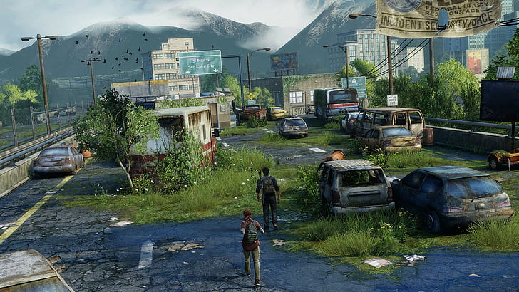 the last of us bandar kosong