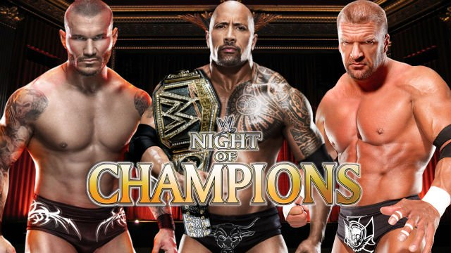 the rock triple h and randy orton 2967