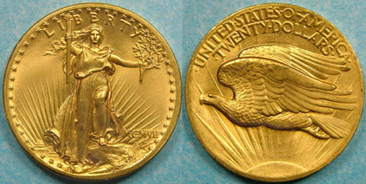 the saint gaudens double eagle 1907