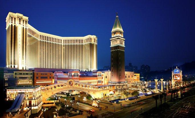 the venetian macao bangunan paling besar di dunia