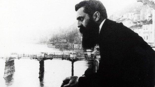 theodor herzl bapa politik moden zionisma