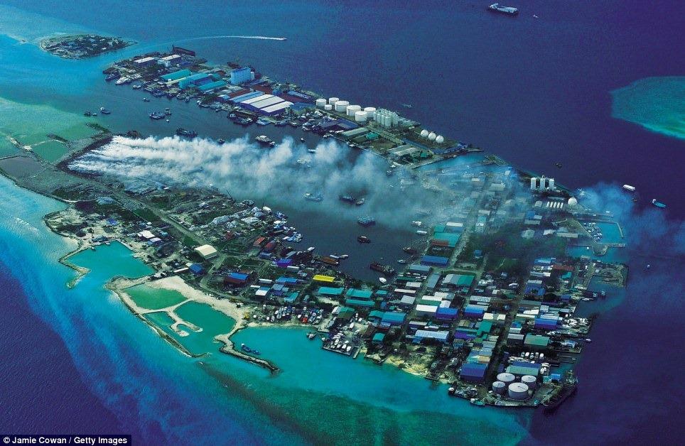 thilafushi island