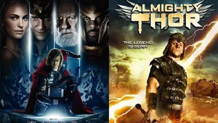 thor marvel dan almighty thor