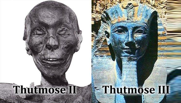 thutmose ii dan thutmose iii 564