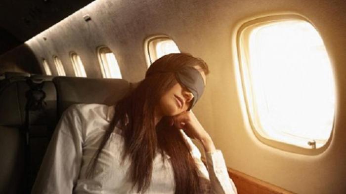 tidur ketika waktu siang di destinasi terakhir