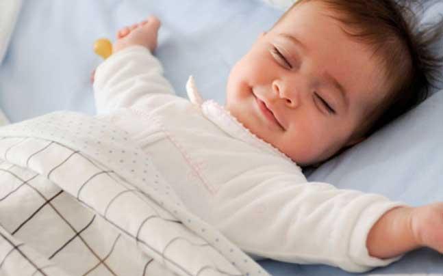 tidur seperti seorang bayi