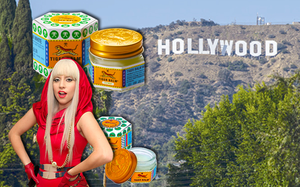 tiger balm lady gaga hollywood