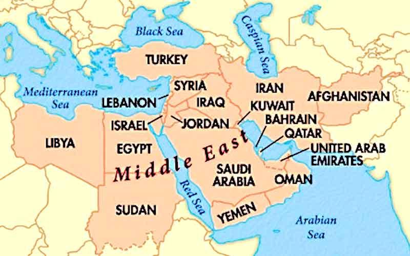 Kenapa Kita Panggil Negara Arab Timur Tengah Atau Middle East Iluminasi