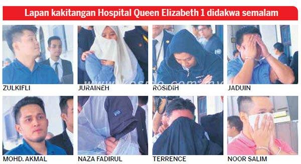 tipu over time 8 penolong pegawai perubatan dijatuhkan hukuman