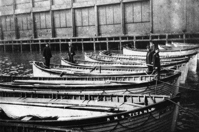 titanic bot kecemasan