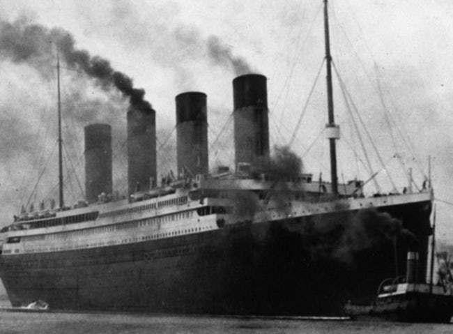 titanic corong