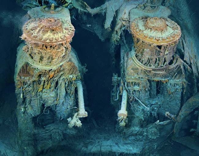 titanic enjin