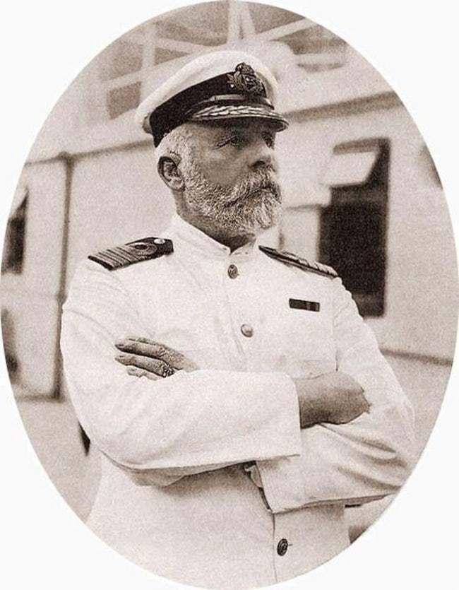 titanic kapten
