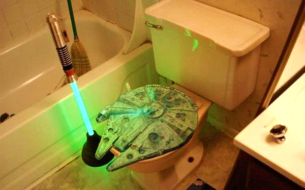 toilet star wars