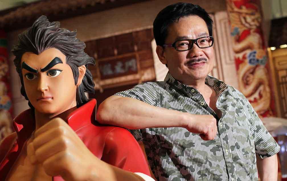 tony wong dengan tiger wong