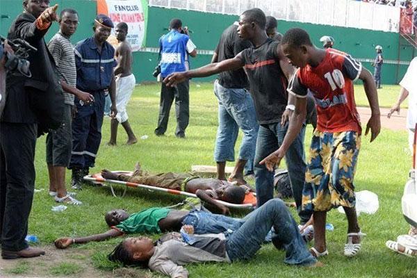 tragedi kematian di stadium accra