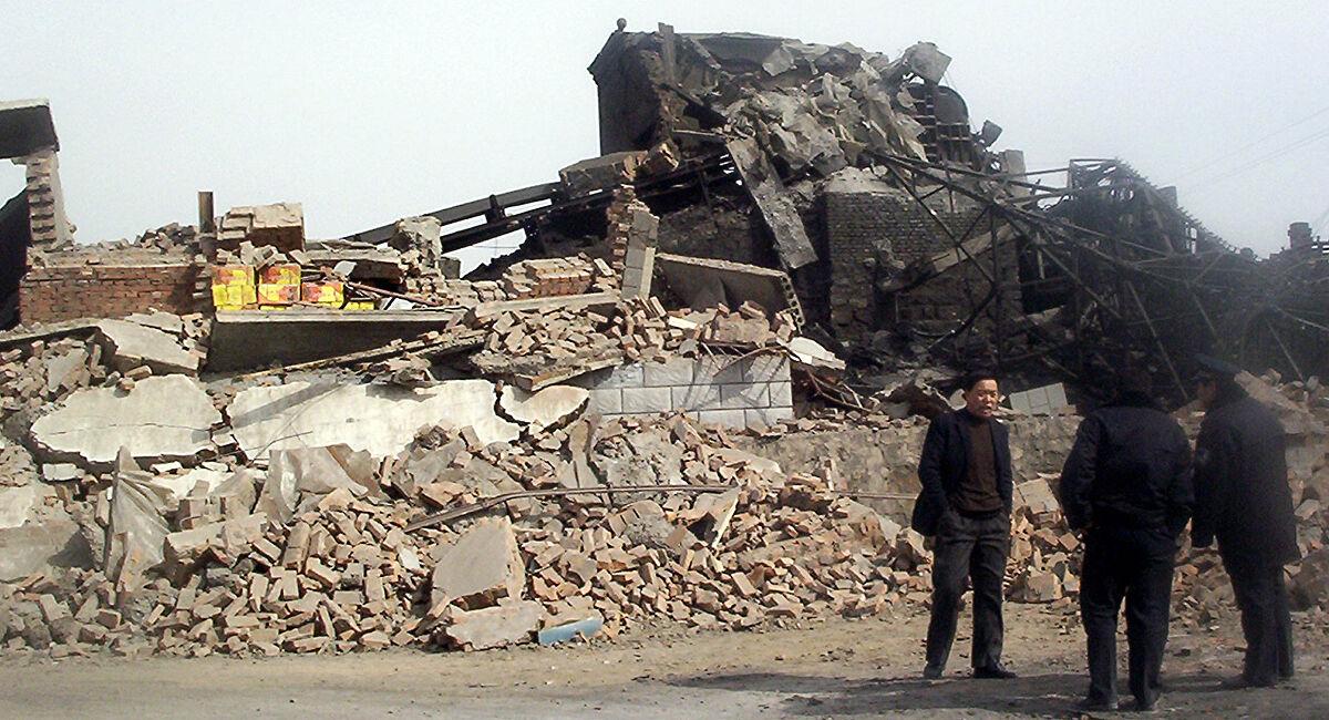 tragedi lombong benxihu china