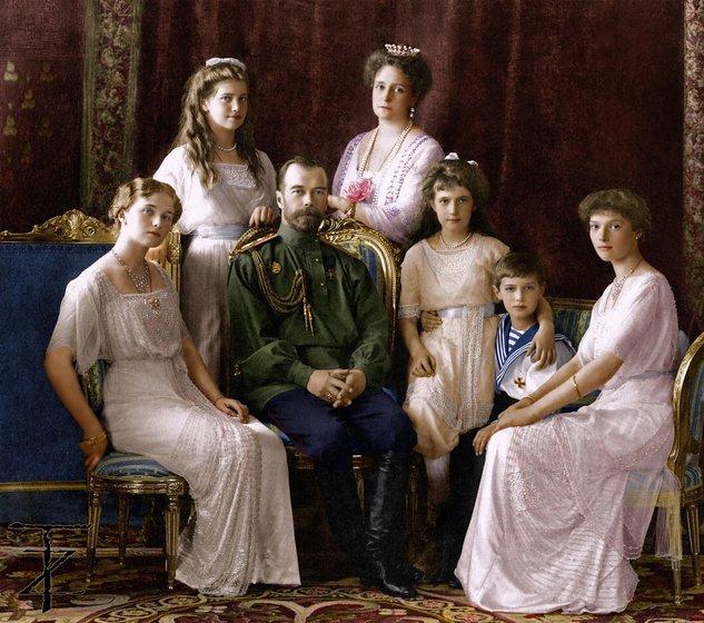 tsar nicholas ii dan keluarga