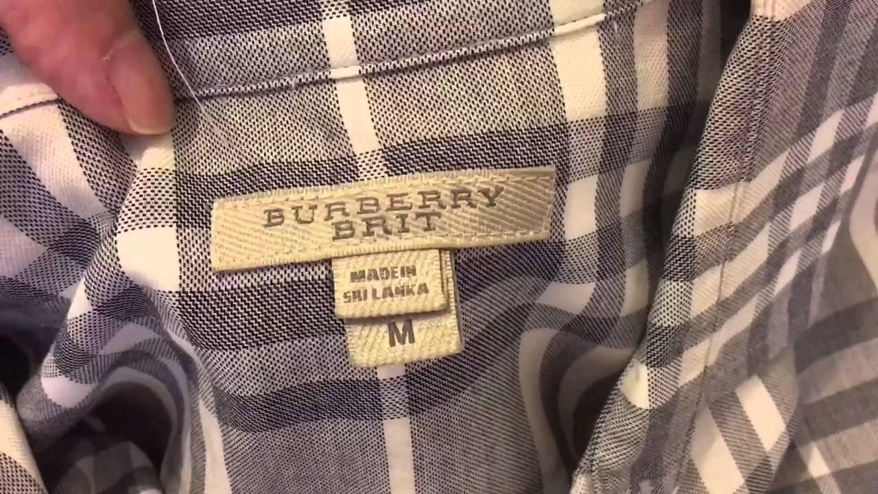 tshirt burberry