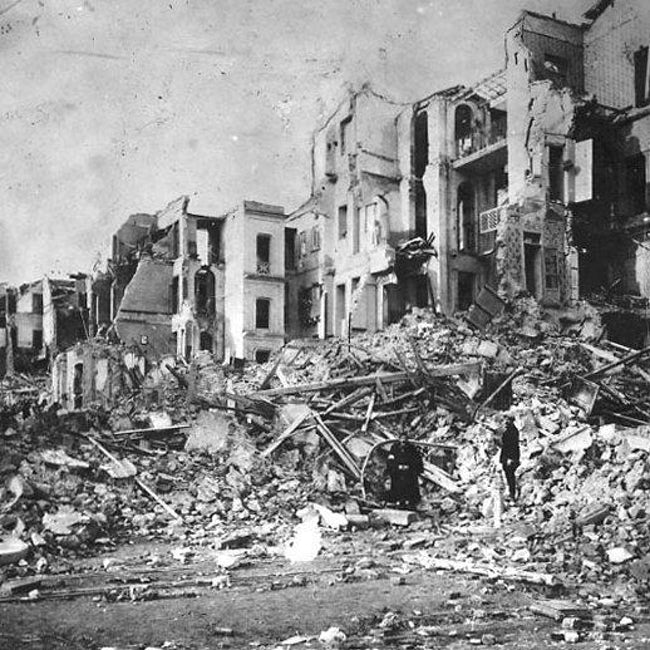 tsunami paling buruk teruk dalam sejarah rekod dunia gempa bumi messina