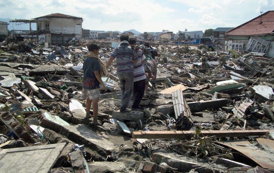 tsunami paling buruk teruk dalam sejarah rekod dunia gempa bumi sumatera indonesia