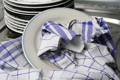 tuala dapur perlu dicuci dengan kerap