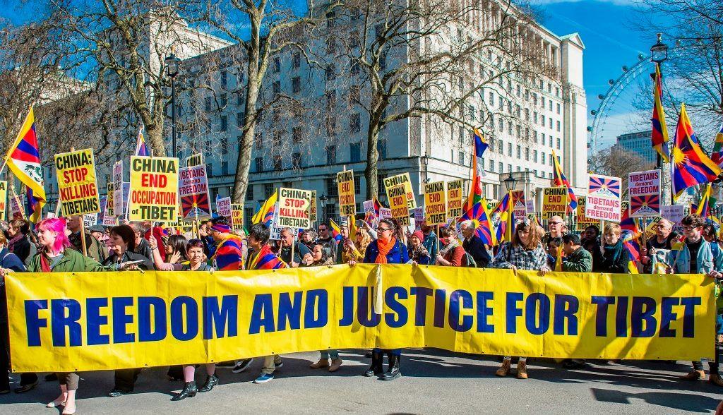 tuntutan kemerdekaan tibet