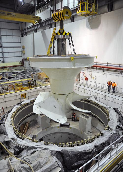 turbin gergasi dalam empangan 2